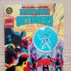 Cómics: BATMAN Y LOS OUTSIDERS - NUMERO 22 - ZINCO. Lote 194883255
