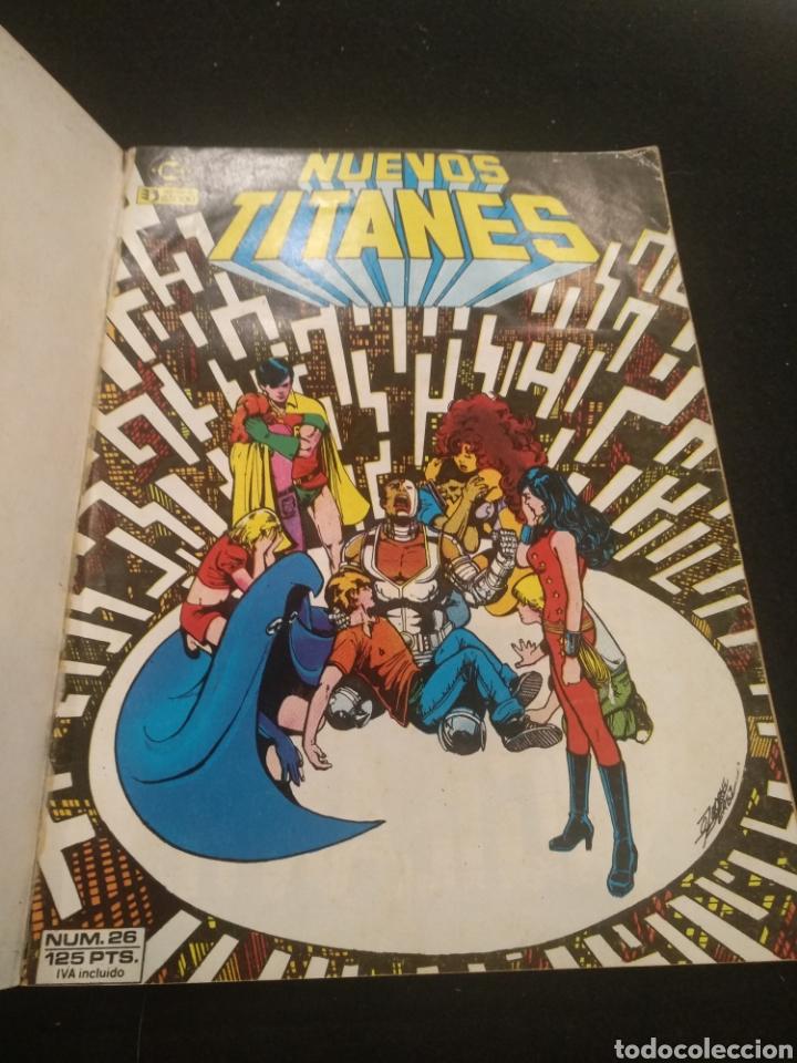 Cómics: DC Nuevos Titanes, Tomo 6, del número 26 al 30. - Foto 3 - 194884903