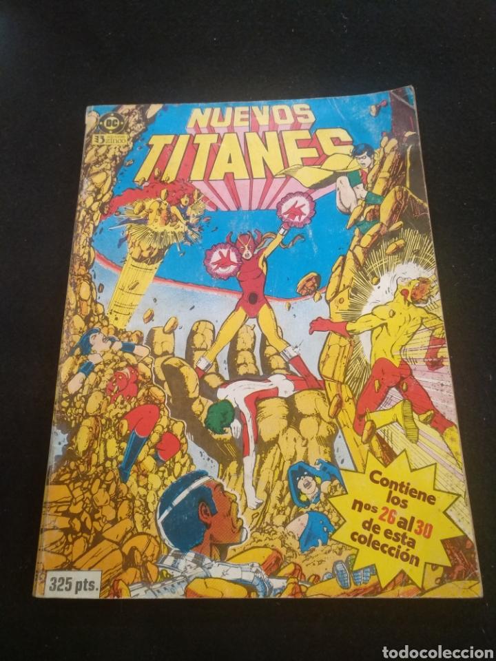 DC NUEVOS TITANES, TOMO 6, DEL NÚMERO 26 AL 30. (Tebeos y Comics - Zinco - Nuevos Titanes)