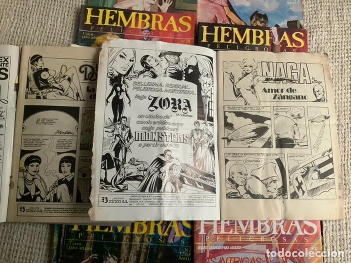Cómics: HEMBRAS PELIGROSAS - LOTE DE 15 EJEMPLARES RELATOS GRAFICOS PARA ADULTOS -ED. ZINCO - Foto 3 - 194890032