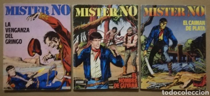 3 EJEMPLARES DE MISTER NO - Nº 5 - 6 - 8 - ED. ZINCO - AÑOS 1982/83 - PJRB (Tebeos y Comics - Zinco - Otros)