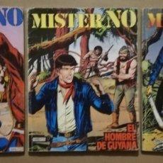 Cómics: 3 EJEMPLARES DE MISTER NO - Nº 5 - 6 - 8 - ED. ZINCO - AÑOS 1982/83 - PJRB. Lote 194901136