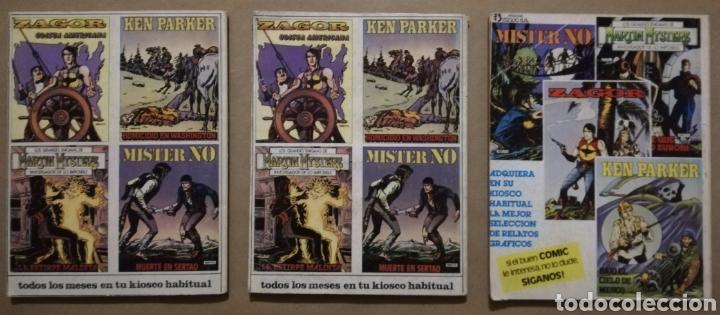 Cómics: 3 EJEMPLARES DE MISTER NO - Nº 5 - 6 - 8 - ED. ZINCO - AÑOS 1982/83 - PJRB - Foto 2 - 194901136