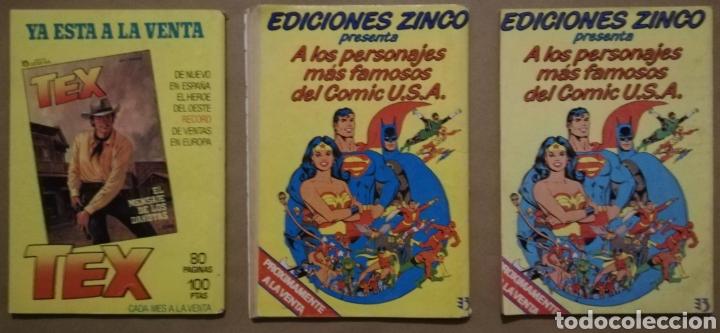 Cómics: 3 EJEMPLARES DE MISTER NO - Nº 11 - 16 - 17 - ED. ZINCO - AÑOS 1982/83 - PJRB - Foto 2 - 194901471
