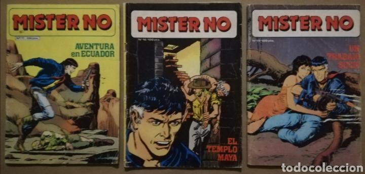 3 EJEMPLARES DE MISTER NO - Nº 11 - 16 - 17 - ED. ZINCO - AÑOS 1982/83 - PJRB (Tebeos y Comics - Zinco - Otros)