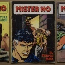 Cómics: 3 EJEMPLARES DE MISTER NO - Nº 11 - 16 - 17 - ED. ZINCO - AÑOS 1982/83 - PJRB. Lote 194901471