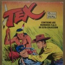 Cómics: 3 EJEMPLARES DE TEX EN 1 - Nº 4 - 5 - 6 - ED. ZINCO - AÑOS 80 - PJRB. Lote 194902970