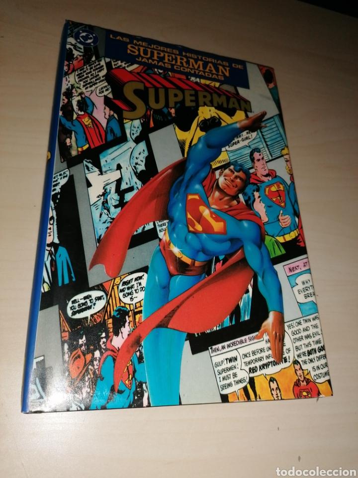 LAS MEJORES HISTORIAS DE SUPERMAN JAMÁS CONTADAS - EDICIONES ZINCO (Tebeos y Comics - Zinco - Superman)