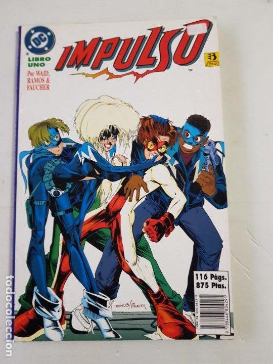 IMPULSO LIBRO UNO ESTADO NORMAL MAS ARTICULOS (Tebeos y Comics - Zinco - Prestiges y Tomos)