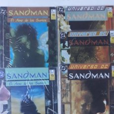 Cómics: SANDMAN, NEIL GAIMAN (LOTE 5 NÚMEROS). Lote 195008201