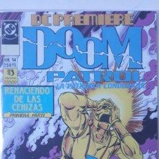 Cómics: DOOM PATROL/PATRULLA CONDENADA, GRANT MORRISON/RICHARD CASEDC PREMIERE 14). Lote 195008321