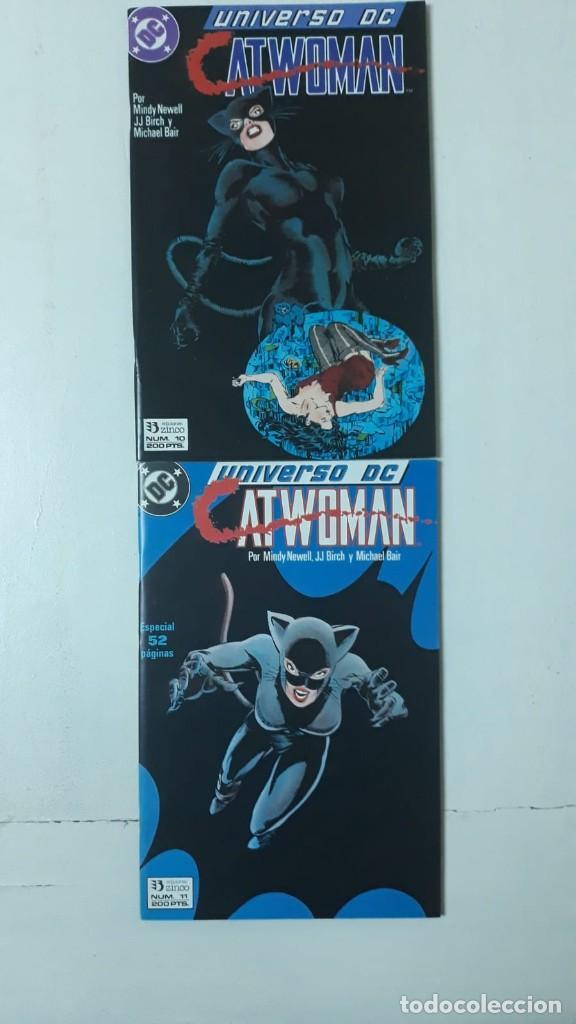 CATWOMAN, ARCO UNIVERSO DC 10 Y 11 (Tebeos y Comics - Zinco - Otros)