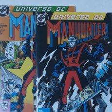 Cómics: MANHUNTER, UNIVERSO DC 5 Y 6. Lote 195013726