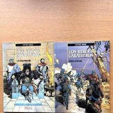 Cómics: LOS HEROES CABALLEROS / LA OSA MAYOR / PERD-CHEVAL / COTHIAS Y ROUGE / ZINCO /. Lote 195106592