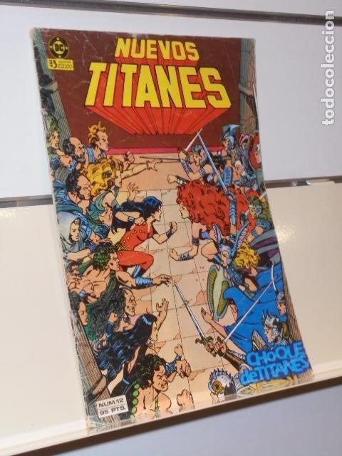 NUEVOS TITANES Nº 12 - ZINCO (Tebeos y Comics - Zinco - Otros)