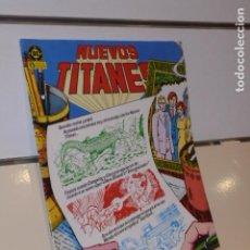 Cómics: NUEVOS TITANES Nº 20 - ZINCO. Lote 195130867