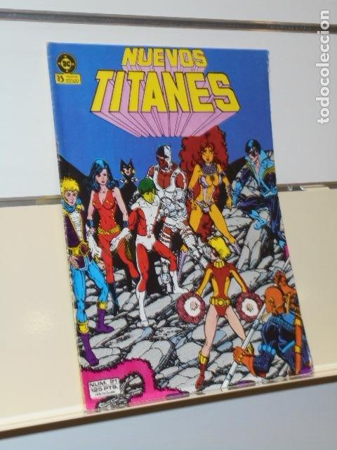NUEVOS TITANES Nº 21 - ZINCO (Tebeos y Comics - Zinco - Otros)