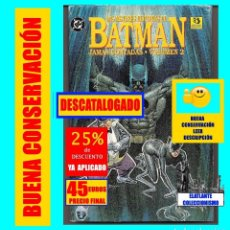 Cómics: BATMAN - LAS MEJORES HISTORIAS DE BATMAN JAMÁS CONTADAS - VOLUMEN 2 - ZINCO - 45 EUROS FINAL. Lote 195016062