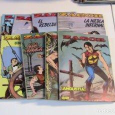 Cómics: ZAGOR TOMOS 1 AL 8. ZINCO, 1982.. Lote 195255487