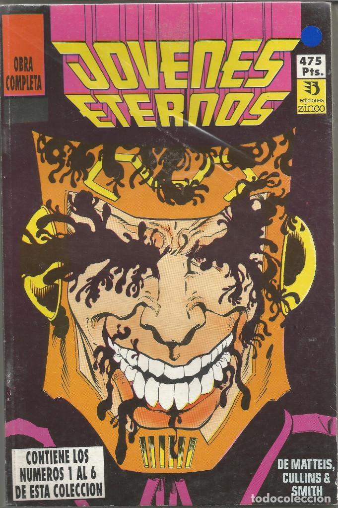 JOVENES ETERNOS COMPLETA EN UN TOMO EDICIONES ZINCO. (Tebeos y Comics - Zinco - Prestiges y Tomos)