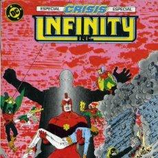 Cómics: INFINITY INC. RETAPADO Nº 4 EDICIONES ZINCO.. Lote 195305307