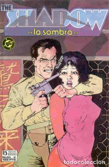 THE SHADOW LA SOMBRA Nº 2 EDICIONES ZINCO (Tebeos y Comics - Zinco - Otros)