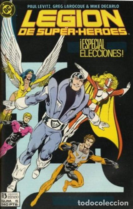 LEGION DE SUPER-HEROES Nº 5 EDICIONES ZINCO (Tebeos y Comics - Zinco - Otros)