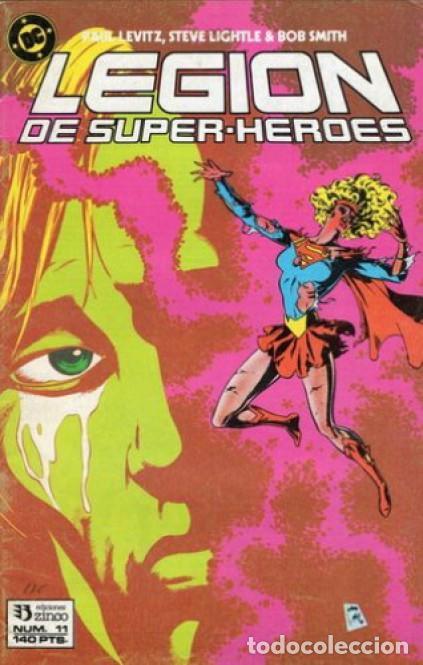 LEGION DE SUPER-HEROES Nº 11 EDICIONES ZINCO (Tebeos y Comics - Zinco - Otros)