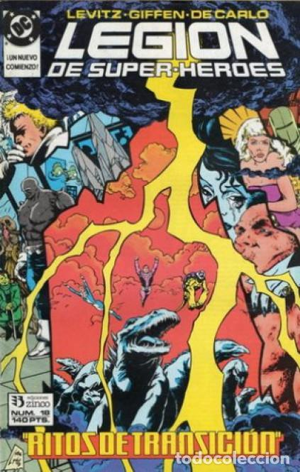 LEGION DE SUPER-HEROES Nº 18 EDICIONES ZINCO (Tebeos y Comics - Zinco - Otros)