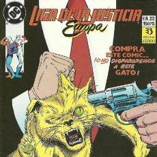 Comics: LIGA DE LA JUSTICIA EUROPA Nº 22 EDITORIAL ZINCO. Lote 195375871