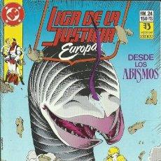 Comics: LIGA DE LA JUSTICIA EUROPA Nº 24 EDITORIAL ZINCO. Lote 195375991