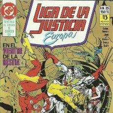 Comics: LIGA DE LA JUSTICIA EUROPA Nº 25 EDITORIAL ZINCO. Lote 195376023