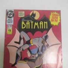 Cómics: LAS AVENTURAS DE BATMAN N.º 11 ED. ZINCO DC 1.993 EPISODIO COMPLETO BUEN ESTADO. CX44. Lote 195378558