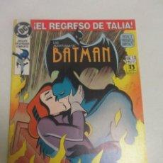 Cómics: LAS AVENTURAS DE BATMAN N.º 13 ED. ZINCO DC 1.993 EPISODIO COMPLETO BUEN ESTADO. CX44. Lote 195378608