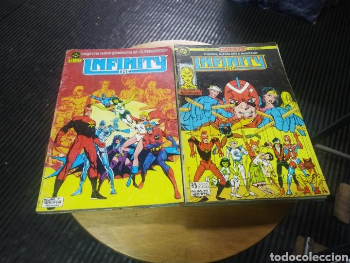 INFINITY LOTE DE 10 Nº 1-2-10-13-14-17-19-20-21--22 (Tebeos y Comics - Zinco - Infinity Inc)