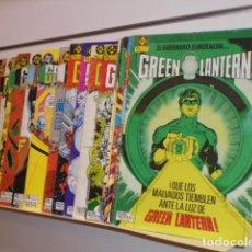 Cómics: 28 NUMEROS GREEN LANTERN CASI COMPLETA SOLO FALTA EL Nº 3 (LA COLECCION CONSTABA DE 29 Nº) - ZINCO. Lote 195425327