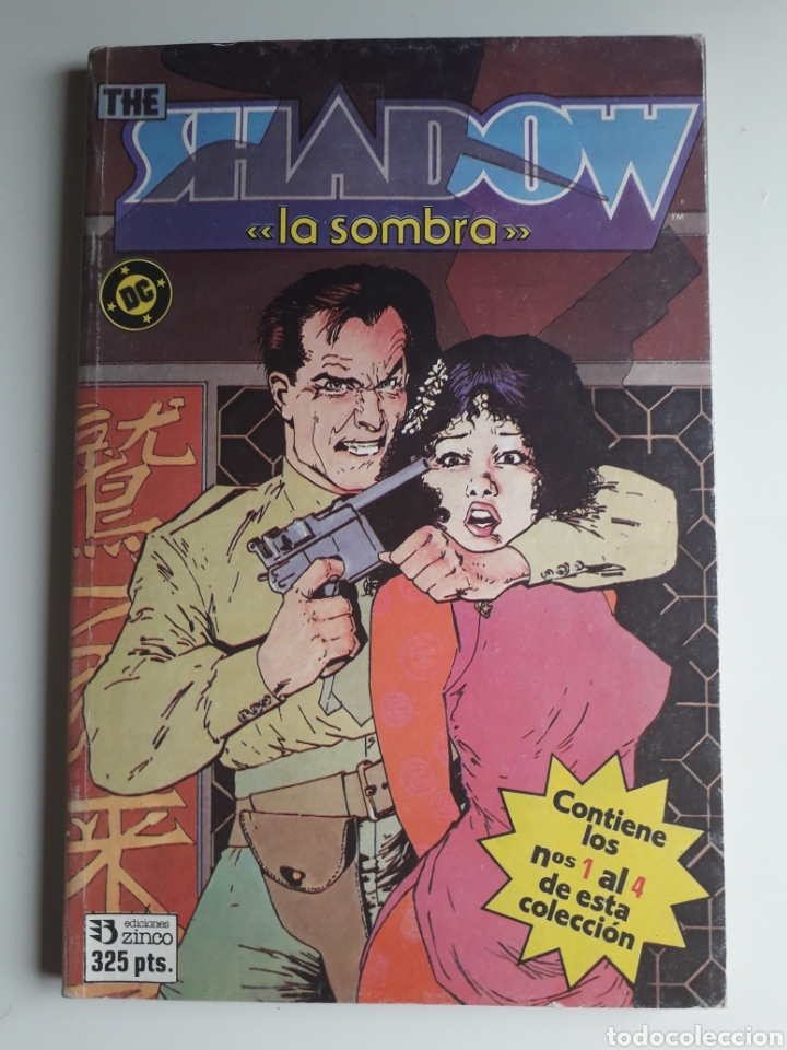THE SHADOW. 1 AL 4. COMPLETA. HOWARD CHAYKIN (Tebeos y Comics - Zinco - Retapados)