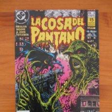 Comics: LA COSA DEL PANTANO Nº 3 (DE 12) - ALAN MOORE & JOHN TOTLEBEN - DC - ZINCO (D). Lote 196061360