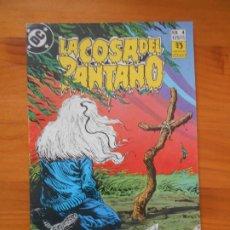 Comics: LA COSA DEL PANTANO Nº 4 (DE 12) - ALAN MOORE - DC - ZINCO (D). Lote 196061497