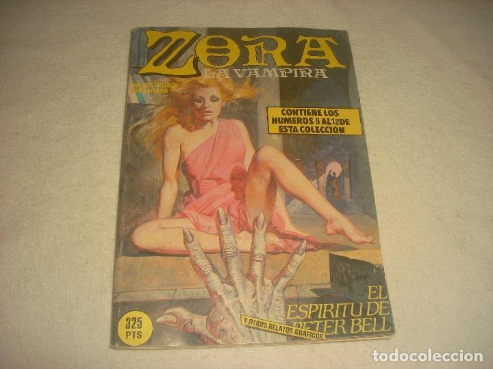 ZORA LA VAMPIRA N. 3. CONTIENE LOS NUMEROS 9 AL 12 . (Tebeos y Comics - Zinco - Retapados)