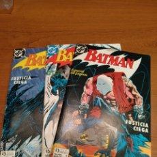 Cómics: BATMAN NÚMEROS 1,2 Y 3. DC EDICIONES ZINCO. Lote 196387711