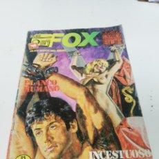 Cómics: FOX. BLANCO HUMANO.. Lote 196452288
