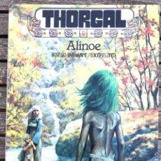 Cómics: THORGAL, ALINOE. AUT. ROSINKI Y VAN HAMME. ED. ZINCO AÑO 1987.. Lote 196649222