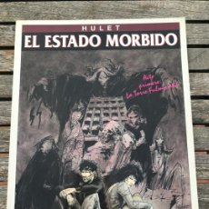 Cómics: EL ESTADO MORBIDO. AUTOR, HULET. EDICIONES ZINCO, AÑO 1994. VER FOTOS. Lote 185957730