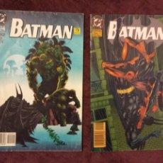 Cómics: BATMAN ESPECIAL Nº 1 Y 2 - DOUG MOENCH - KELLEY JONES - ED. ZINCO. Lote 196799987