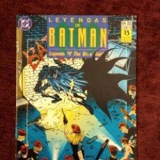 Cómics: LEYENDAS DE BATMAN Nº 22: FE CAPÍTULO DOS - ED. ZINCO. Lote 196801542
