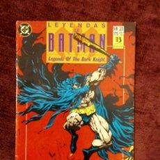 Cómics: LEYENDAS DE BATMAN Nº 23: FE CAPÍTULO TRES - ED. ZINCO. Lote 196801715