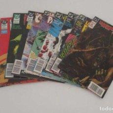 Cómics: 9 COMICS - LA COSA DEL PANTANO. Lote 196952278