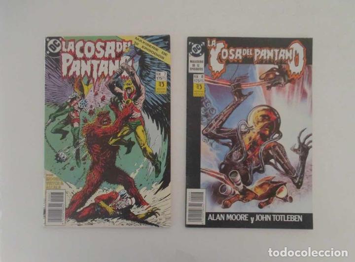 Cómics: 9 COMICS - LA COSA DEL PANTANO - Foto 4 - 196952278