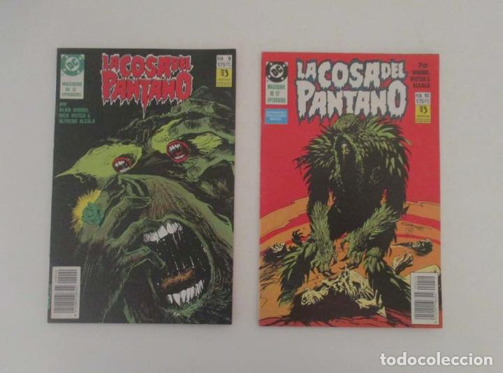 Cómics: 9 COMICS - LA COSA DEL PANTANO - Foto 5 - 196952278